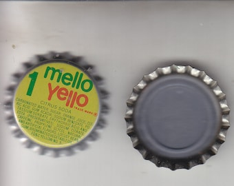 Never Used 100 Mellow Yellow Bottle Caps