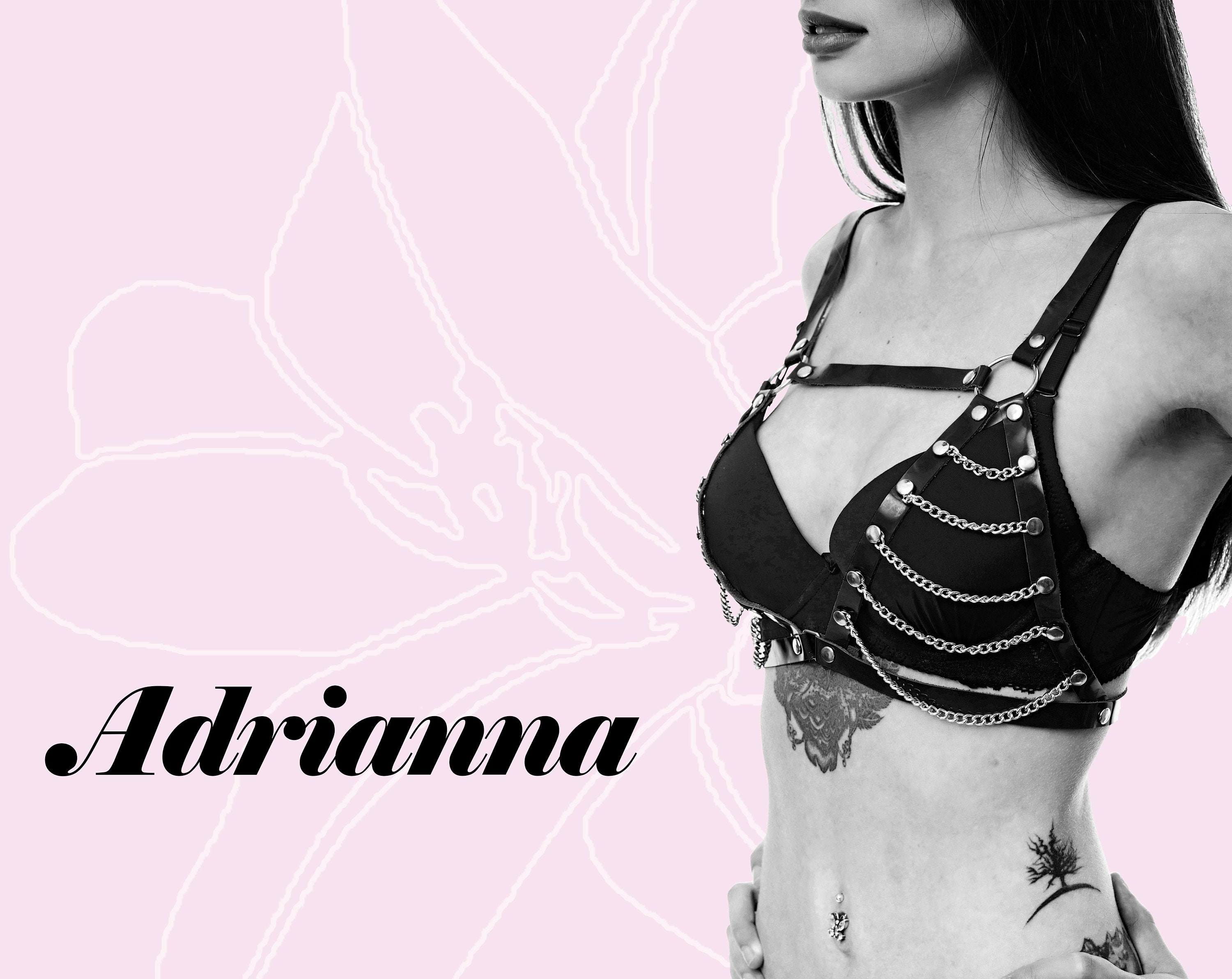 787a9dce7a9 Adrianna Chain Bra / harness sexy bralette gift for wife | Etsy