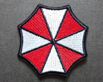 Arts,crafts & Sewing Nice Resident Evil Series Umbrella Corporation Pvc Badge Rubber Badges 3d Patch Applique For Clothing Cap Accessories