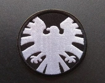 SHIPPING crest patch 1960s Marvel Agents of SHIELD FREE U.S S.H.I.E.L.D