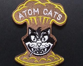 Atom Cats Logo Fallout Iron On Patch 75db561ff5e5