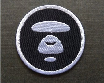 9b4548990600 Bathing Ape Bape Round Iron On Patch