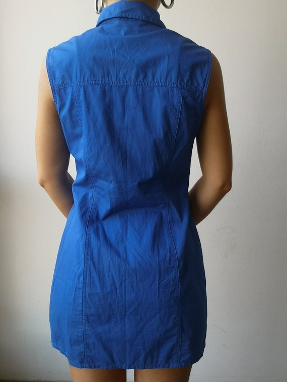 VERSACE Y2K Dress | Versace Tank Dress | 90s Vers… - image 4