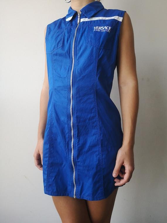 VERSACE Y2K Dress | Versace Tank Dress | 90s Vers… - image 1