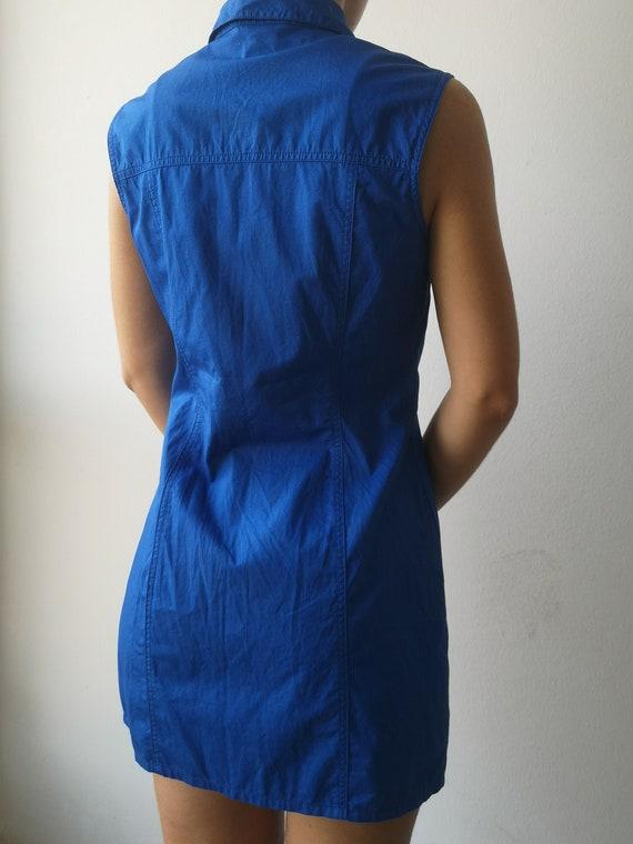 VERSACE Y2K Dress | Versace Tank Dress | 90s Vers… - image 6