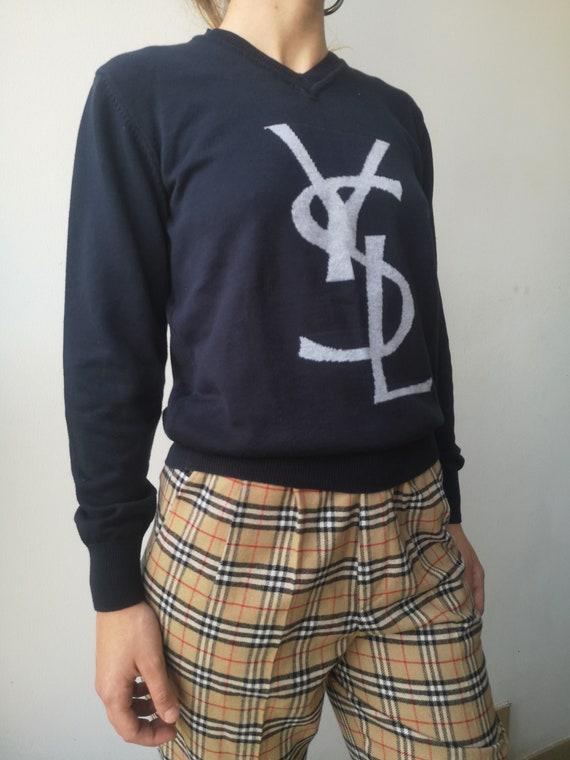 Yves Saint-Laurent Sweater   YSL Sweatshirt   Wome