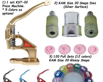 for Universal Green Hand Press Machine Size 16 Kam Snaps Die Set Only in T3