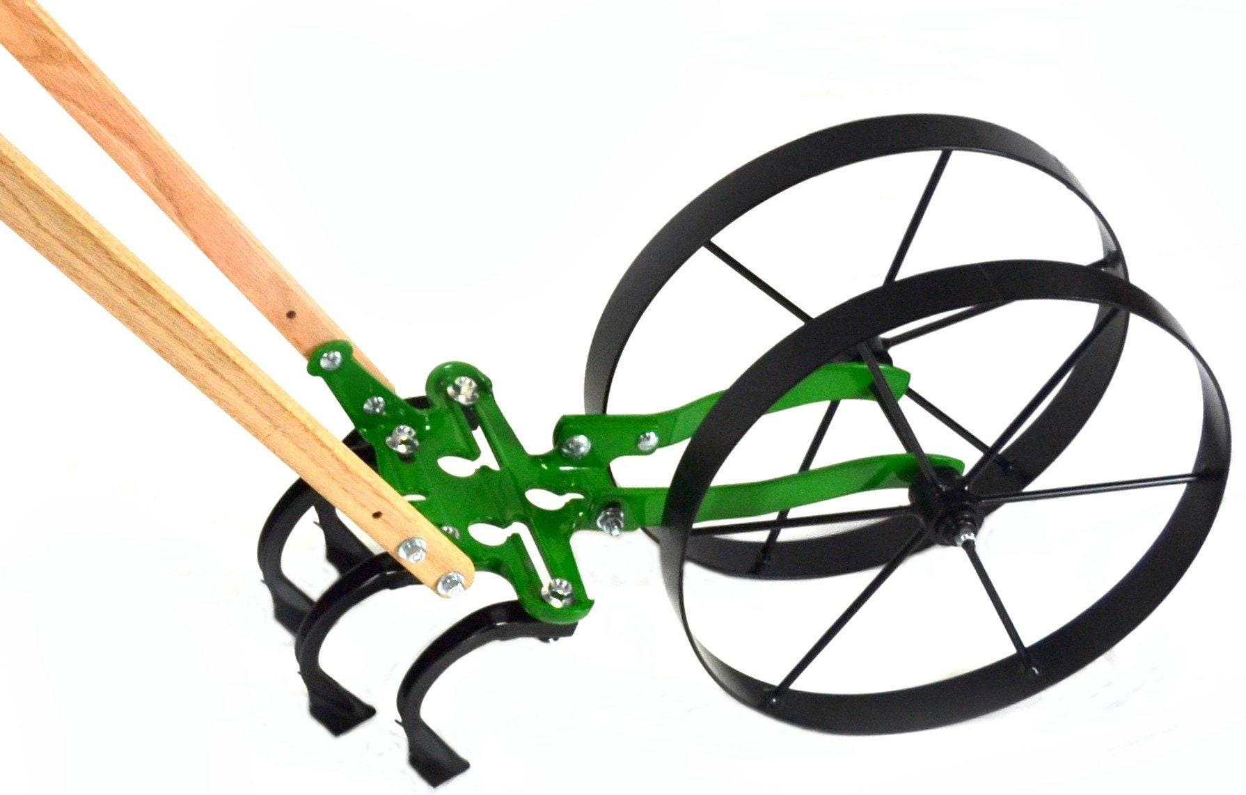Double Double Double roue jardin bineuse avec poignées Standard d5d8dd