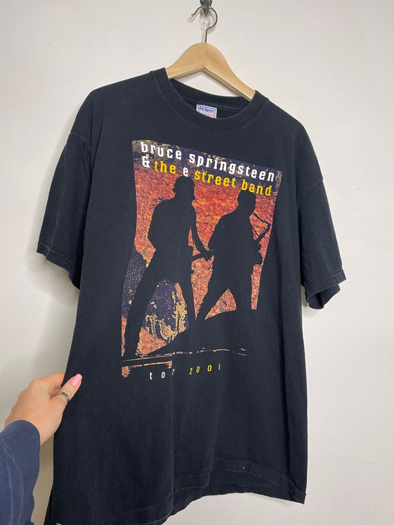 Bruce Springsteen The E Street Band 2000 Tour Tshirt Short Sleeve Size Large Men