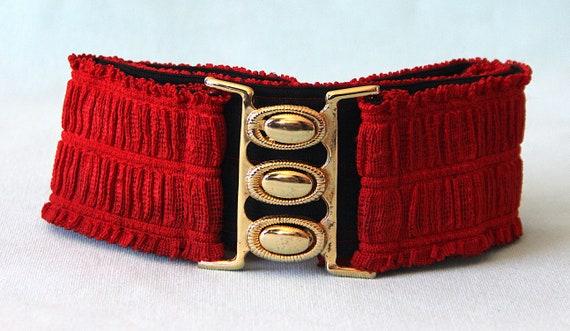 Belt 80'S elasticated