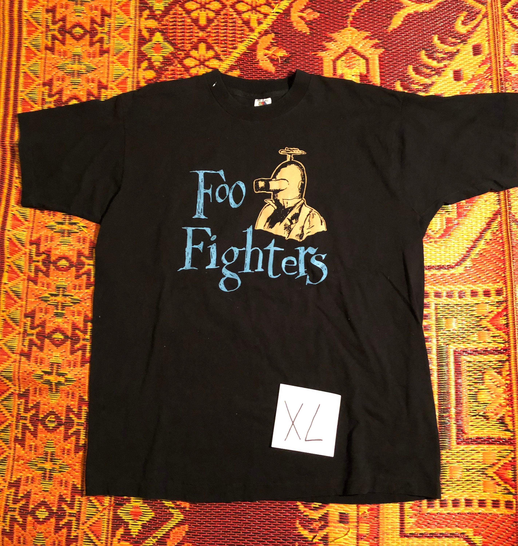 1995 Foo Watt Fighters & Mike Watt Foo Tour T Shirt 75626f