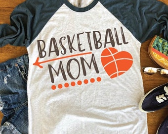 Basketball Mom  svg  Cutting Files and ClipArt svg dxf eps png jpg digital design for tshirt