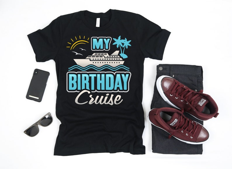 aa00de41 My Birthday Cruise T Shirt Cruise Ship Tshirt Happy | Etsy