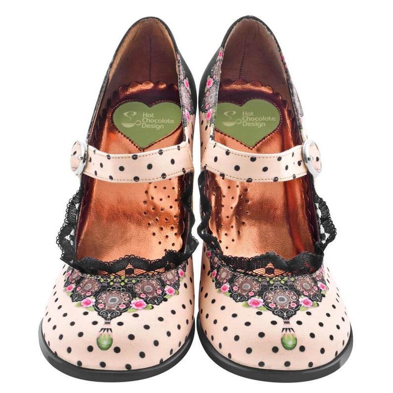 a39d841ff038 Hot Chocolate Design Women s Mary Jane Pump High Heels
