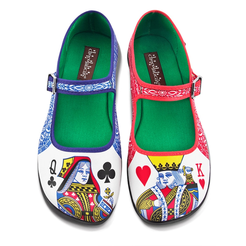 032cecd2a8d2 Hot Chocolate Design Women s Mary Jane Flat Shoes
