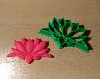 Lotus Flower Cookie Etsy