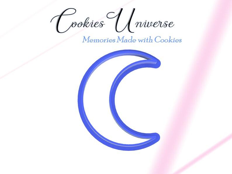 Crescent Moon Cookie Cutter Fondant Cutter