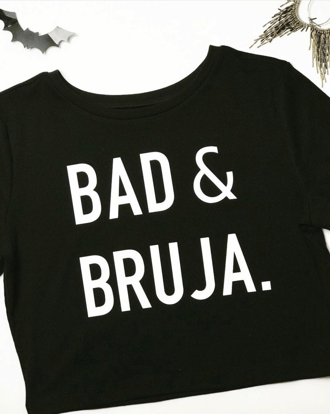 Women Witchcraft Bruja Funny Bruja Witch Shirt Bad And Bruja Shirt Halloween Party Gift