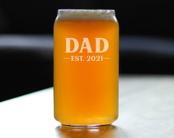 Idea for Christmas Father/'s Day Birthday Retirement Party Best Cat Dad Beer Pint Glass Dad Beer Glass Funny Dad Beer Glass for Men Father Dad New Dad Husband Friend Cat Lover 15 Oz