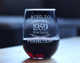 Aged To Perfection 1959 Vintage