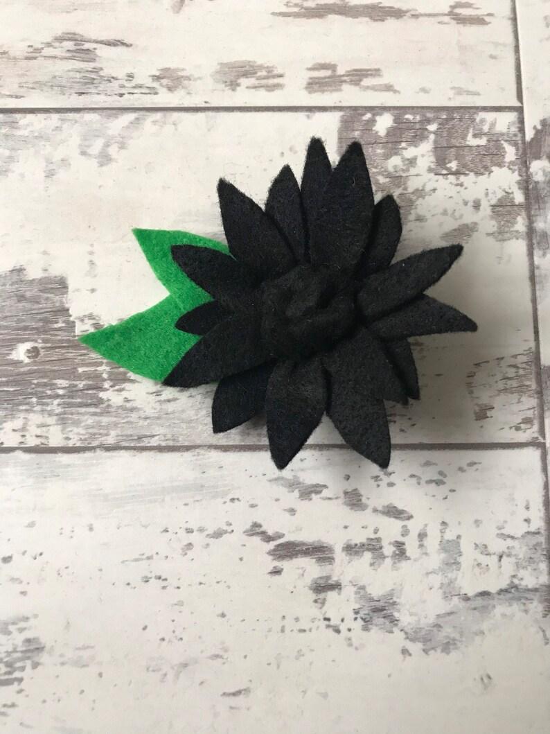 Floral Gifts Hair Accessory Flower Felt Hair Clip