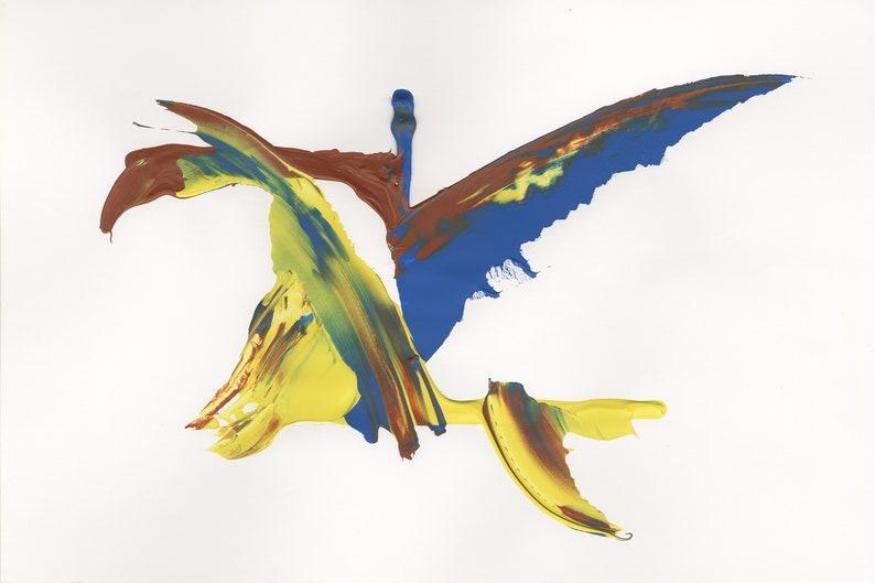 Flight 3  Open Edition Fine Art Print from the Flights of image 0