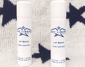 Lady Liberty Lip Balm Duo Peppermint Essential Oil All Natural Made in USA
