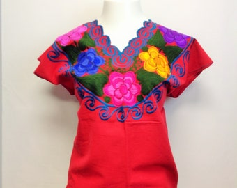 2ca9cc6d9925b2 2XL Mexican Blouse Embroidery Blouse Different Patterns Mexican Top