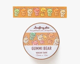 Gummi Bear Washi Tape