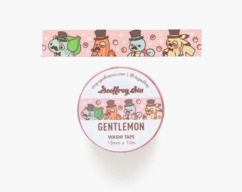Gentlemon Washi Tape