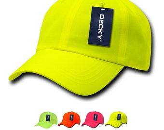 76943981 1 Dozen Wholesale Blank Neon Baseball Dad Caps - Decky 761