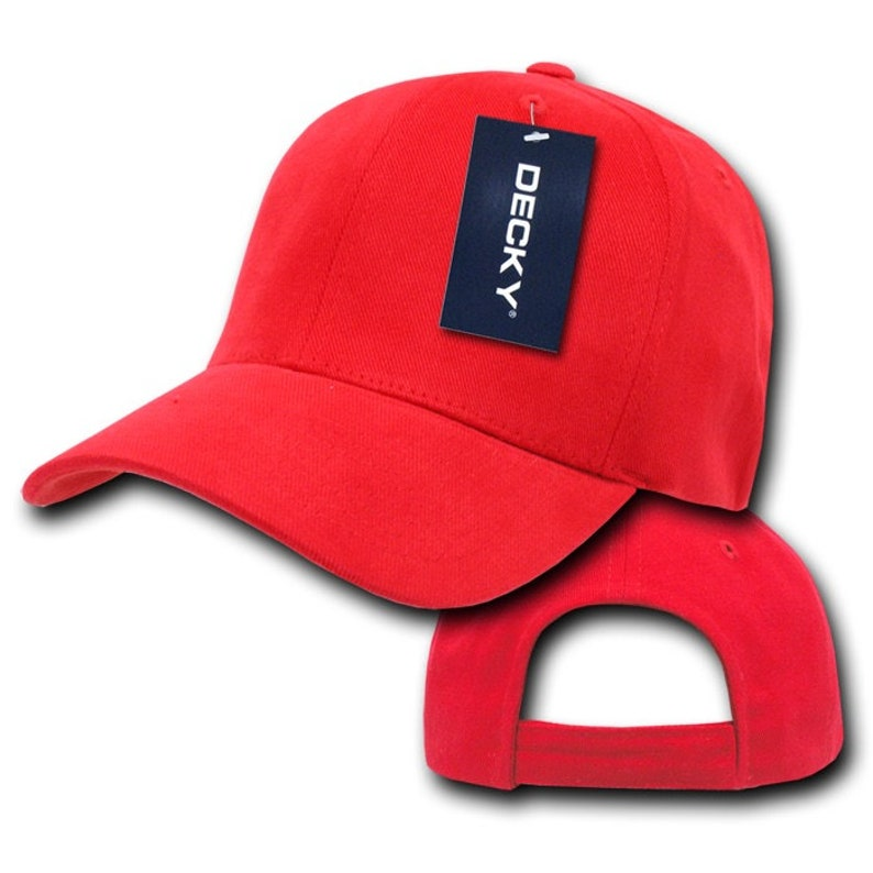 Dad Hats Decky 112 100/% Cotton Brushed Cotton Relaxed Baseball Caps