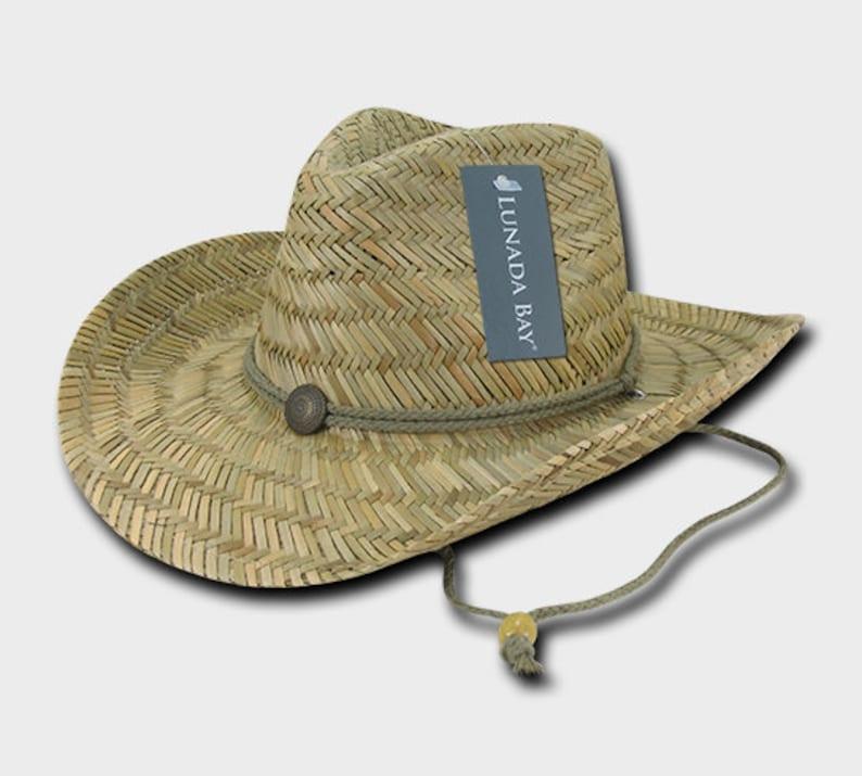 1 Dozen Wholesale Straw Cowboy Hat 526