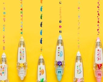 Decoration Tape Pen, Scrapbook Decorating, Animal Tape Pen, Planner Accessory