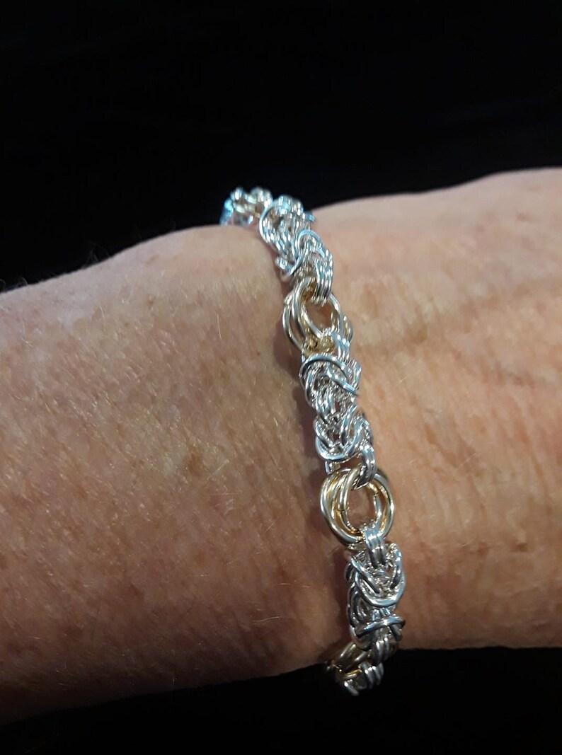 Byzantine /& Flowers Bracelet
