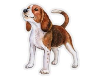 DOG BREED FUNNY CAR DECAL BUMPER STICKER WALL got beagle