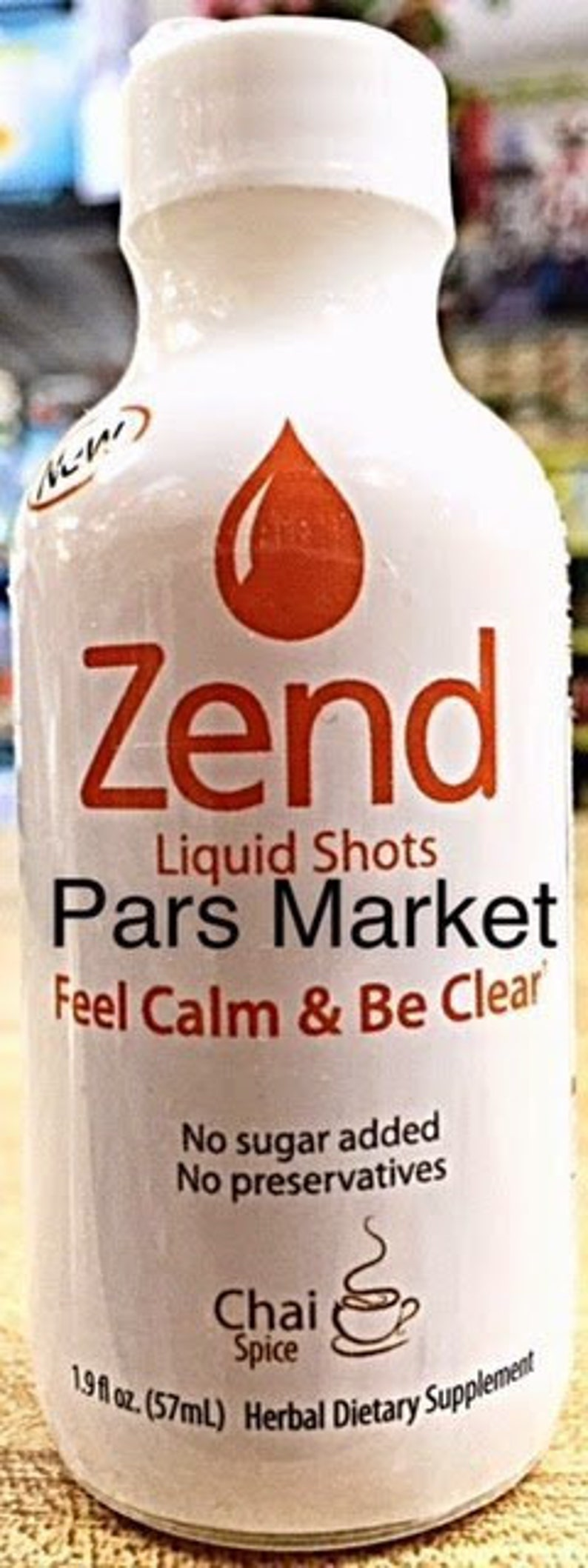 Chai Spice Zend Liquid Kava Kava Relaxation Shot (Past Best Before Date)  Free Shipping + Sample