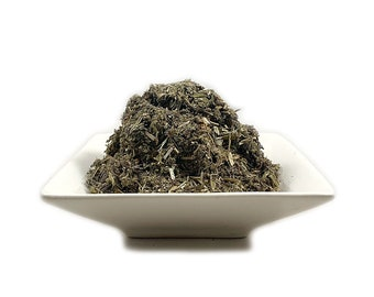 Organic Mugwort (Artemisia vulgaris) Cut & Sifted Rough Cut 2021 Fresh (Wicca, Spiritual, Pagan) - Free Shipping + Free Sample USA