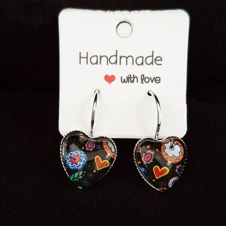 Jamberry Heart earrings