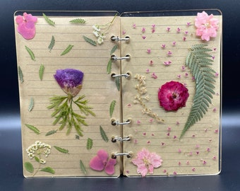 A6 sized resin journal