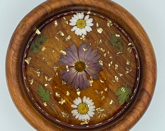 Wood/ Resin Trinket dish