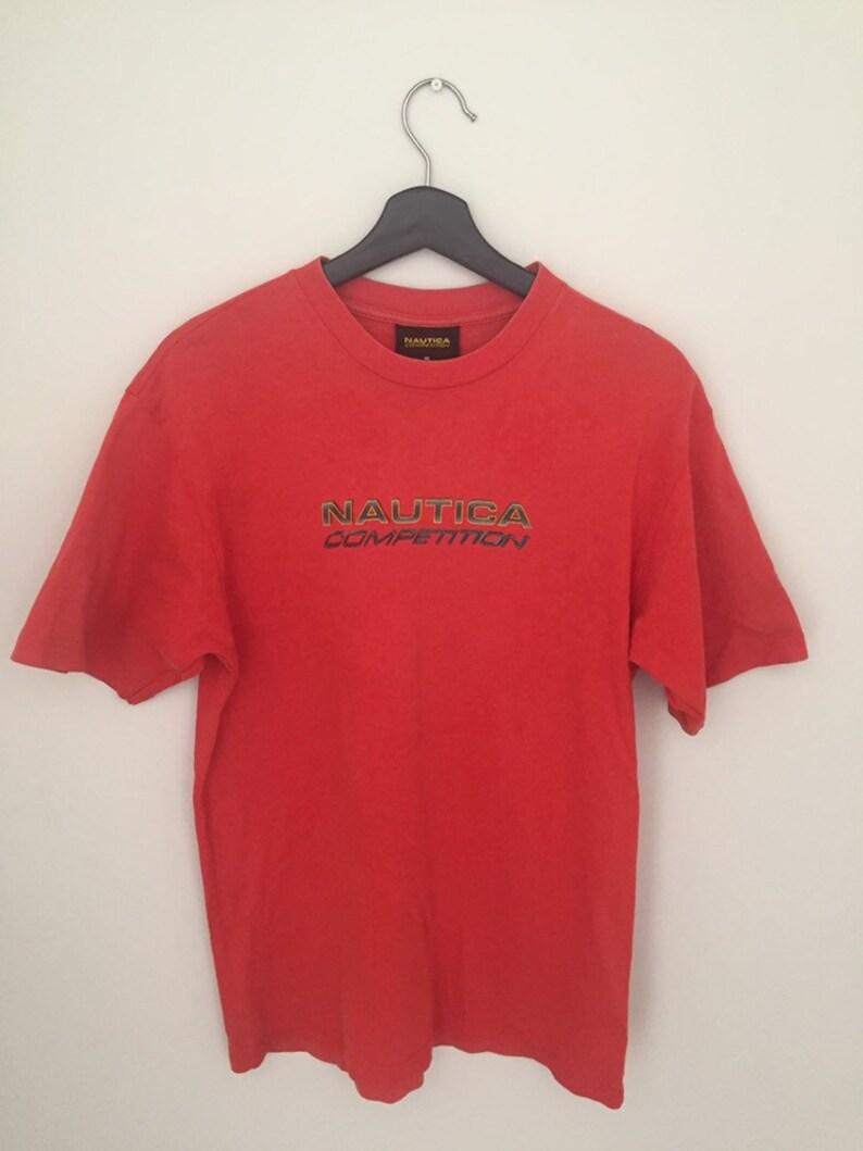 7d45ba33b Vintage Nautica T-Shirt   Etsy