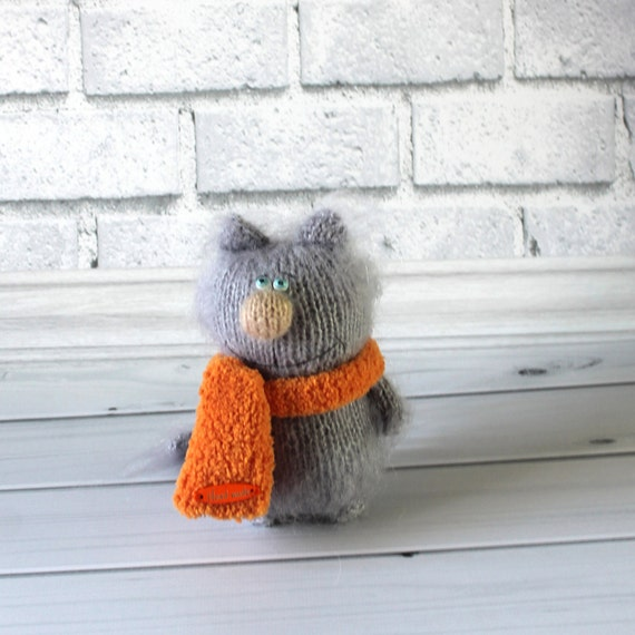 010 Crochet Pattern - Cat Siam toy with wire frame - Amigurumi PDF ... | 570x570