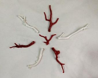 Japanese white coral | Etsy