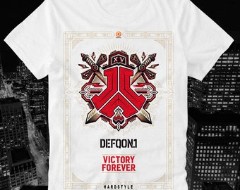 3aa00d9aa57 T-Shirt Defqon 1 Techno Hardstyle Q Dance Rave XTC Ecstasy Qlimax Bass  Events