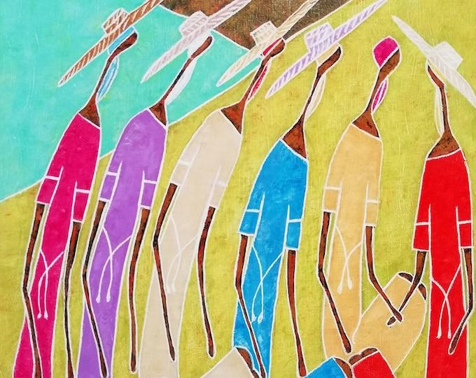 josé hilomé, Haitian art, Haitian painter...