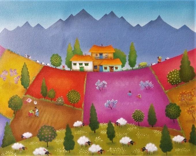 Work by Patricia Henricy Cruzalegui / PEROU