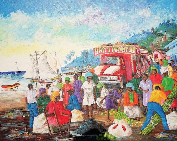 Work by Pierre Richard Jean / HAITI
