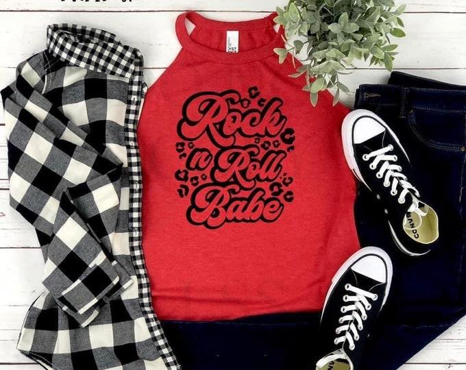 Rock & Roll Babe  (Screen Print transfer) **Physical Item**