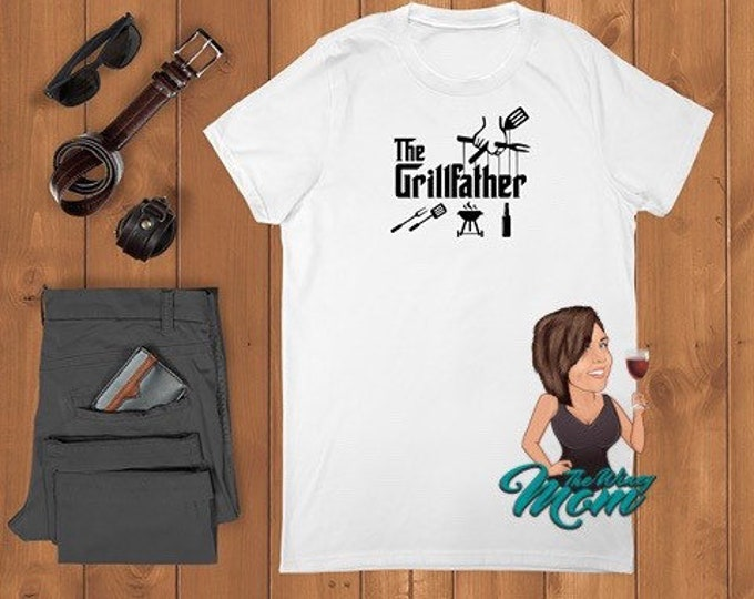 The GrillFather (Screen Print transfer) **Physical Item**